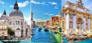 маршрут по италии рим флоренция венеция