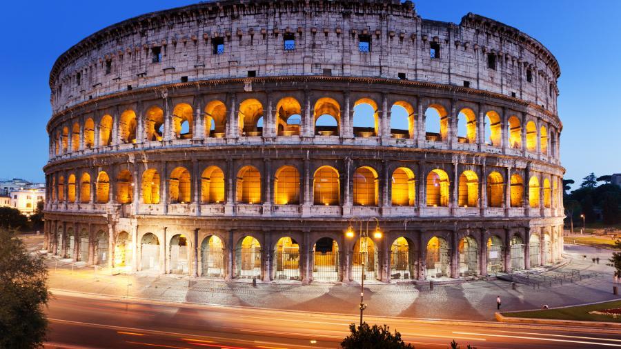 roma colosseum. Roma. Italy Маршрут по Риму