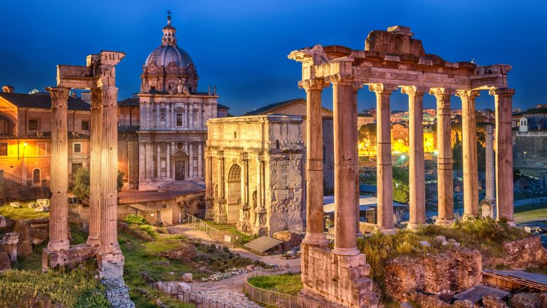 romano forum. Roma. Italy