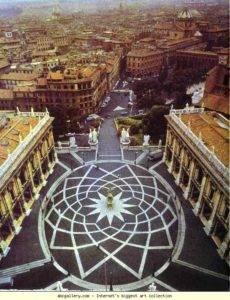 piazzale capitolii. Roma. Italy Маршрут по Риму