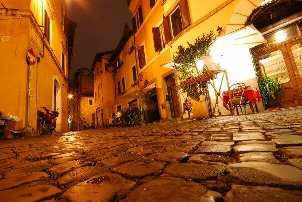 trastevere_is _a_heart_of_roma. Roma. Italy Маршрут по Риму