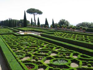 vaticans_garden. Roma.