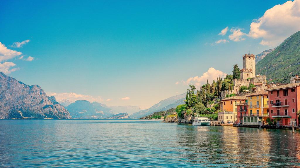 озеро гарда север италии развлечения для детей