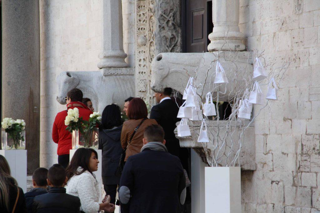 Bari. Weddings day