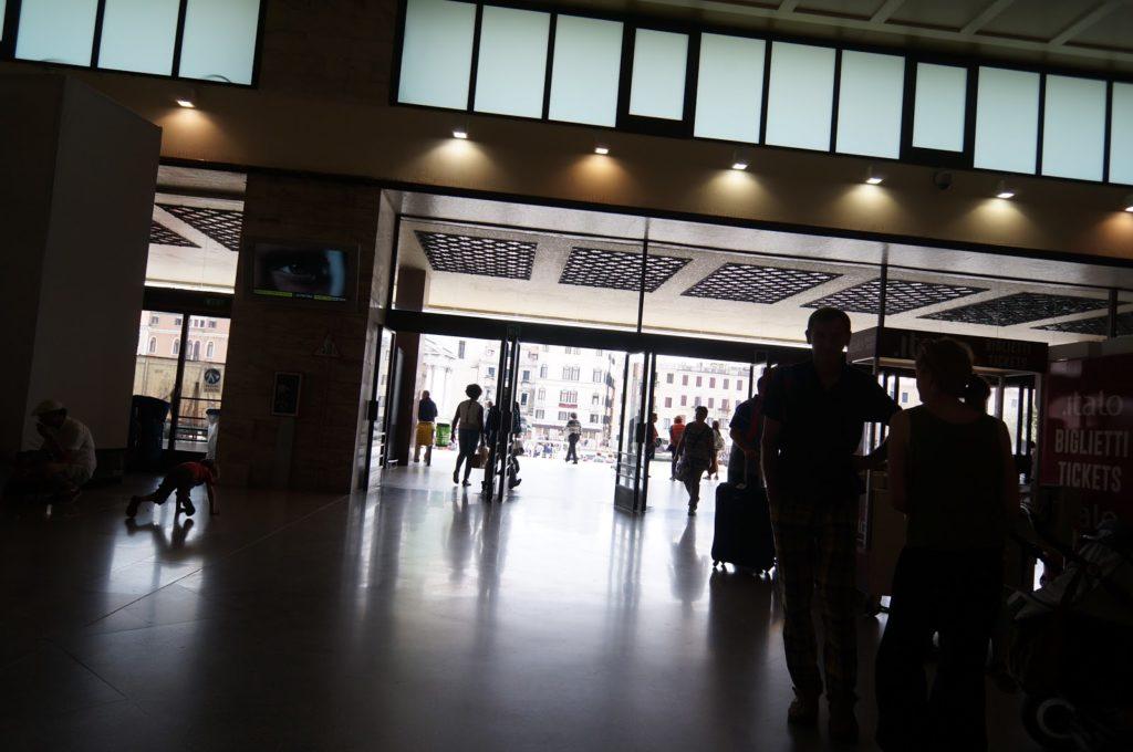Вокзал. Венеция