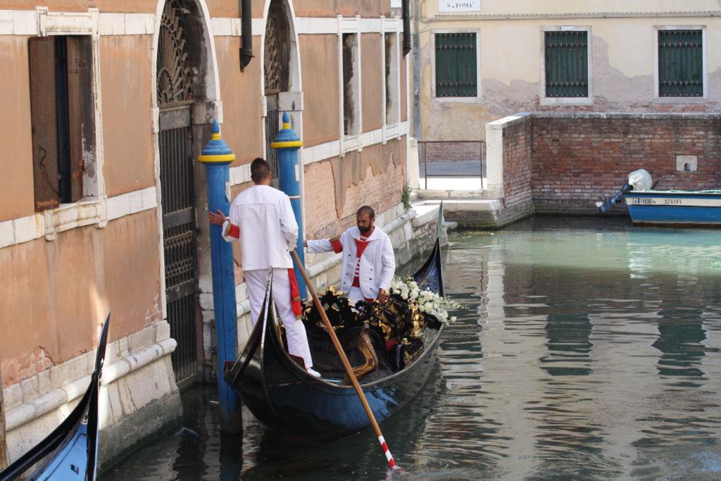 Гондольеры. Венеция