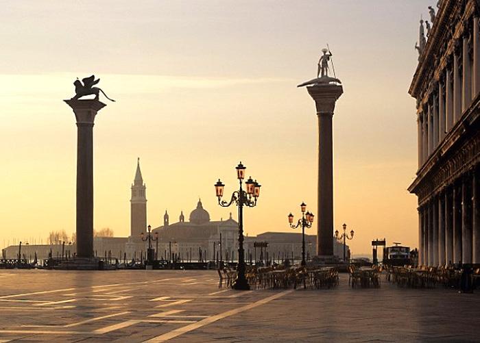 Колонны Святого Марка и Теодора. Венеция